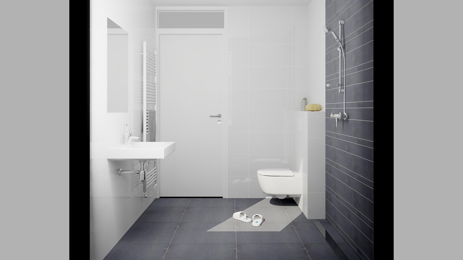 nl funvit badkamer muur kast