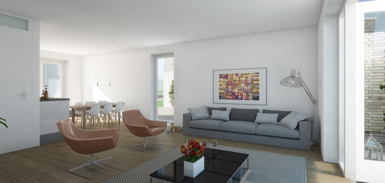 Woonklaar bij oplevering: inclusief luxe keuken, badkamer, gladde wanden en parketvloer NAAR JOUW SMAAK